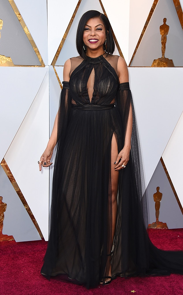 Taraji P. Henson, 2018 Oscars, Red Carpet Fashions