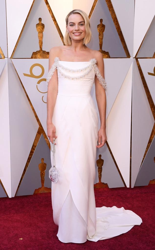Margot Robbie, 2018 Oscars, Red Carpet Fashions
