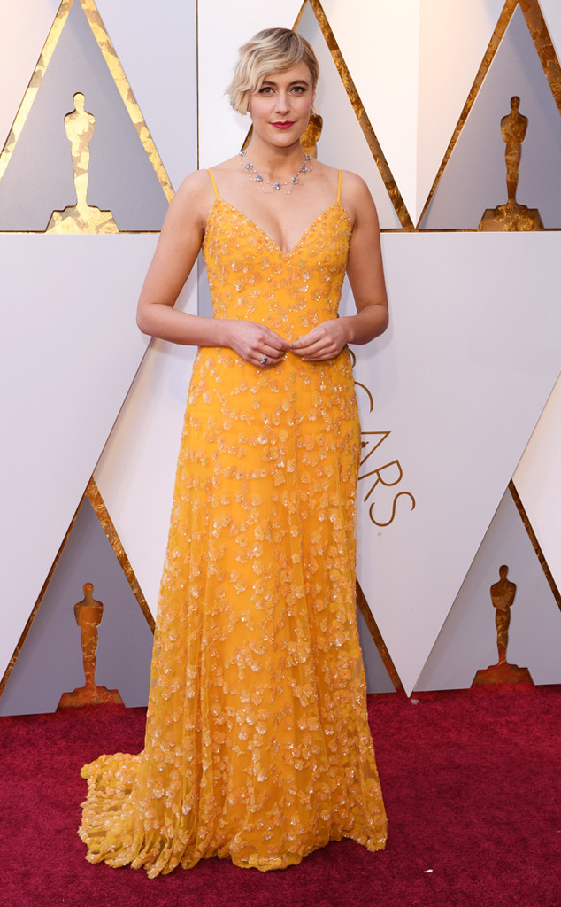 Greta Gerwig, 2018 Oscars, Red Carpet Fashions