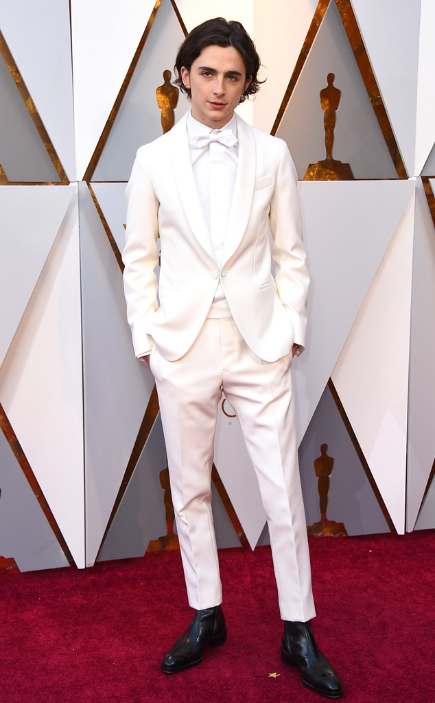 Timothee Chalamet, 2018 Oscars, Red Carpet Fashions