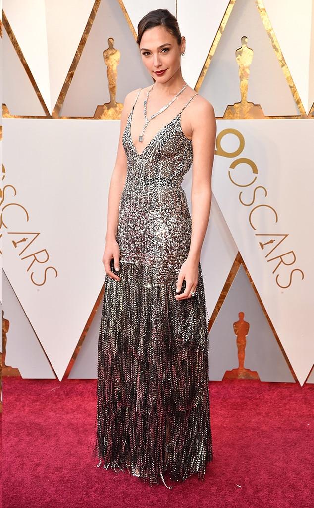 Gal Gadot, 2018 Oscars, Red Carpet Fashions