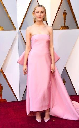 Saoirse Ronan, 2018 Oscars, Red Carpet Fashions