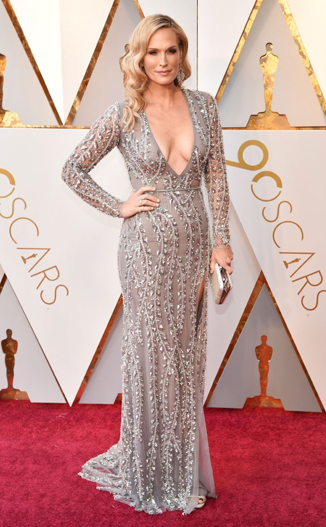 Molly Sims, 2018 Oscars, Red Carpet Fashions