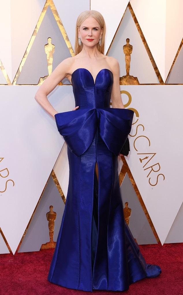 Nicole Kidman, 2018 Oscars, Red Carpet Fashions