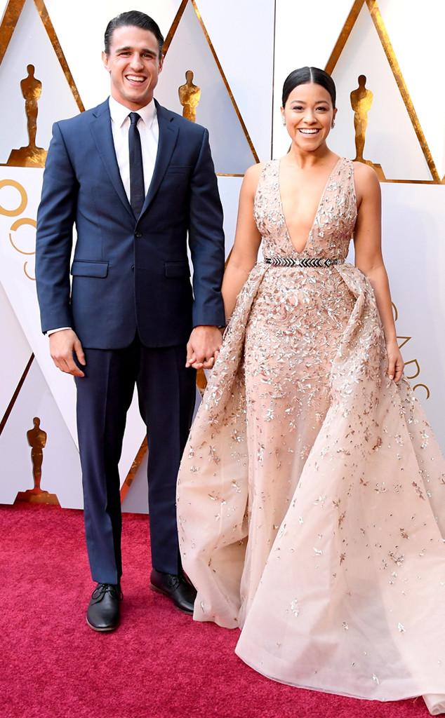 Joe LoCicero, Gina Rodriguez, 2018 Oscars, Couples
