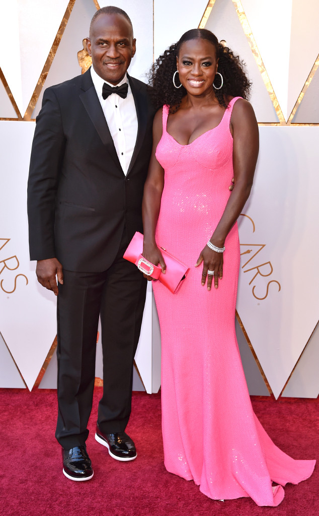 Viola Davis, Julius Tennon, 2018 Oscars, Couples