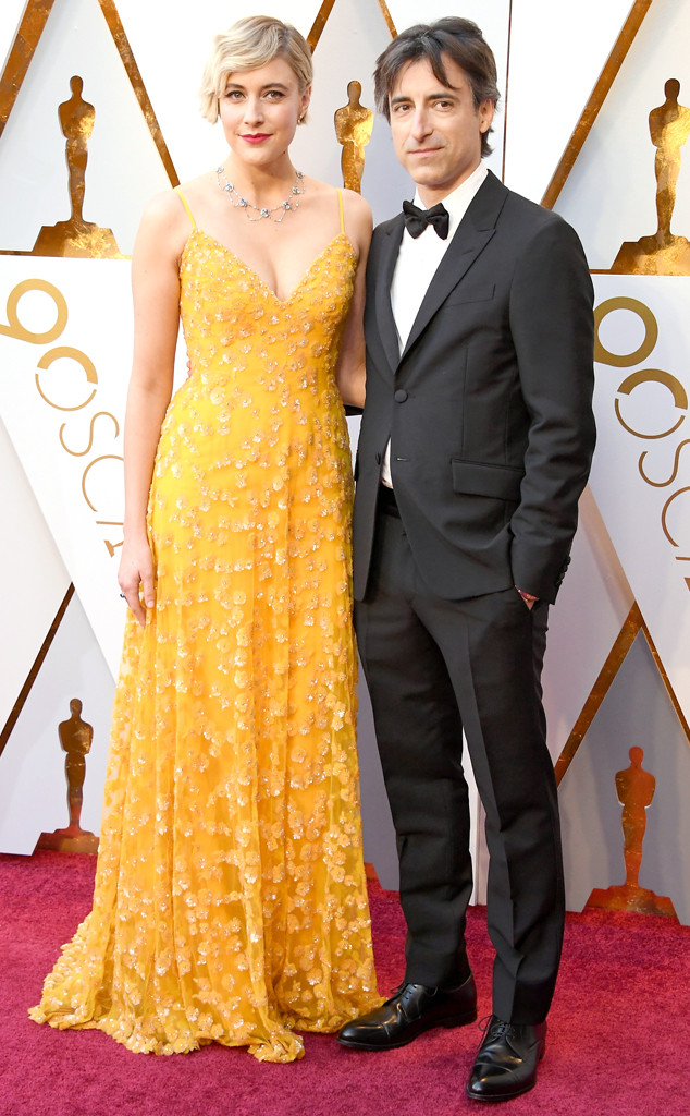 Greta Gerwig, Noah Baumbach, 2018 Oscars, Couples