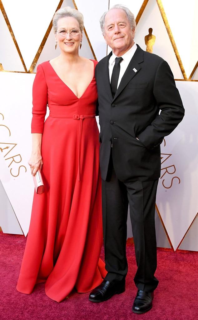 Meryl Streep, Don Gummer, 2018 Oscars, Couples