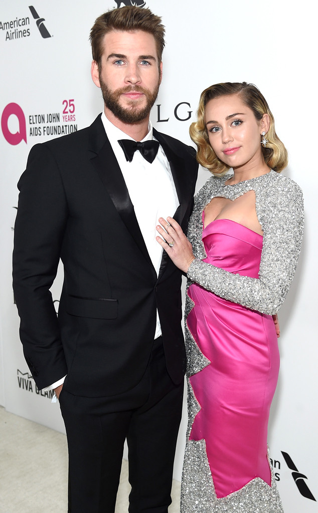 Liam Hemsworth, Miley Cyrus, Vanity Fair