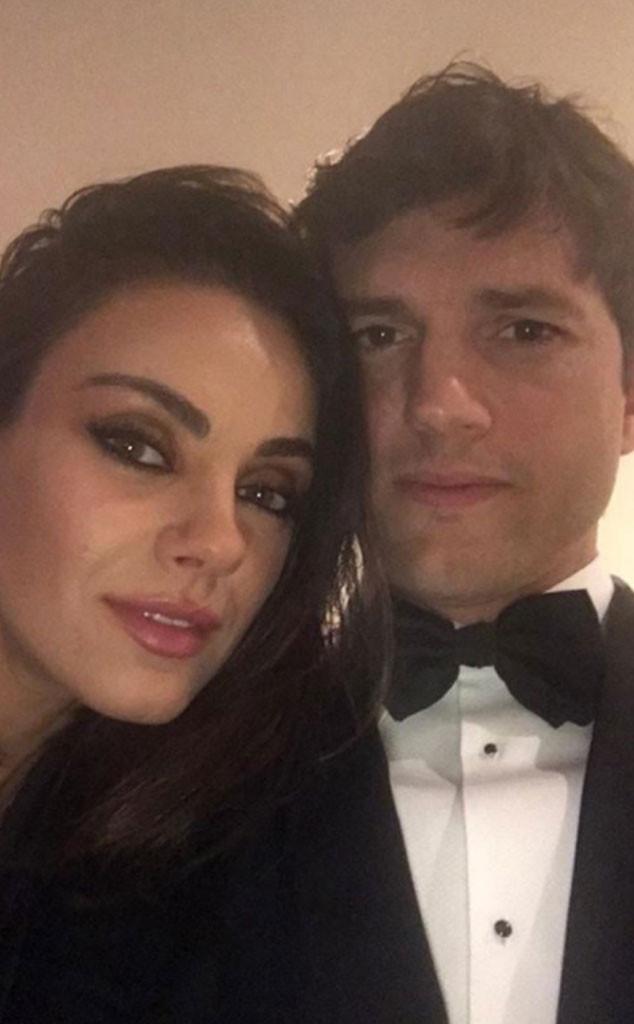 Ashton Kutcher, Mila Kunis, 2018 Oscars