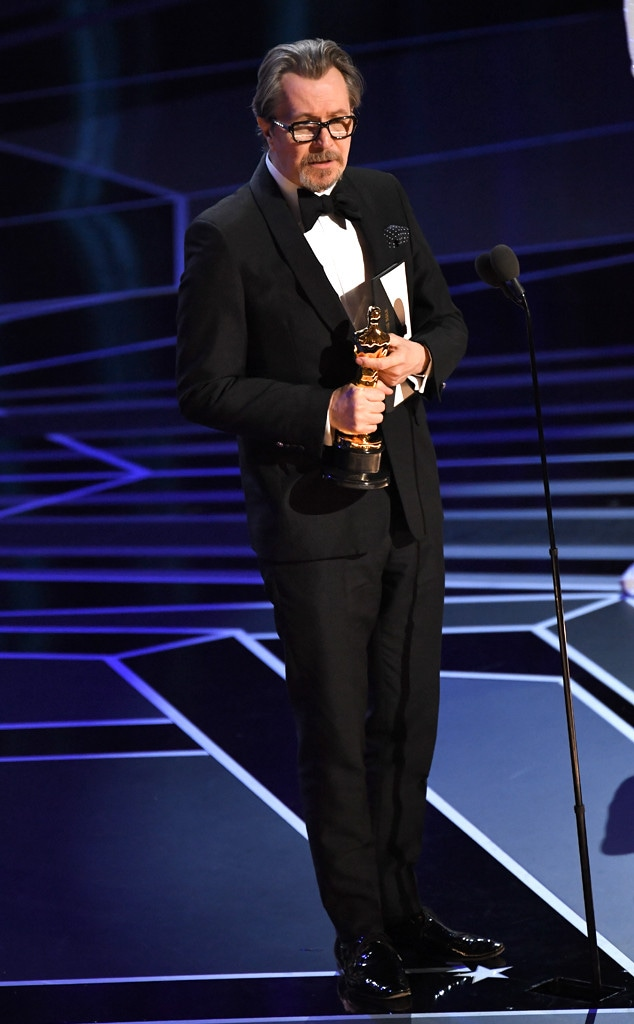 Actor in a Leading Role, Gary Oldman, 2018 Oscars, 2018, Winners
