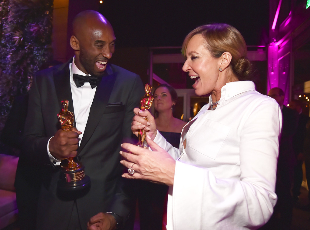 Kobe Bryant, Allison Janney, 2018 Oscar Party Pics