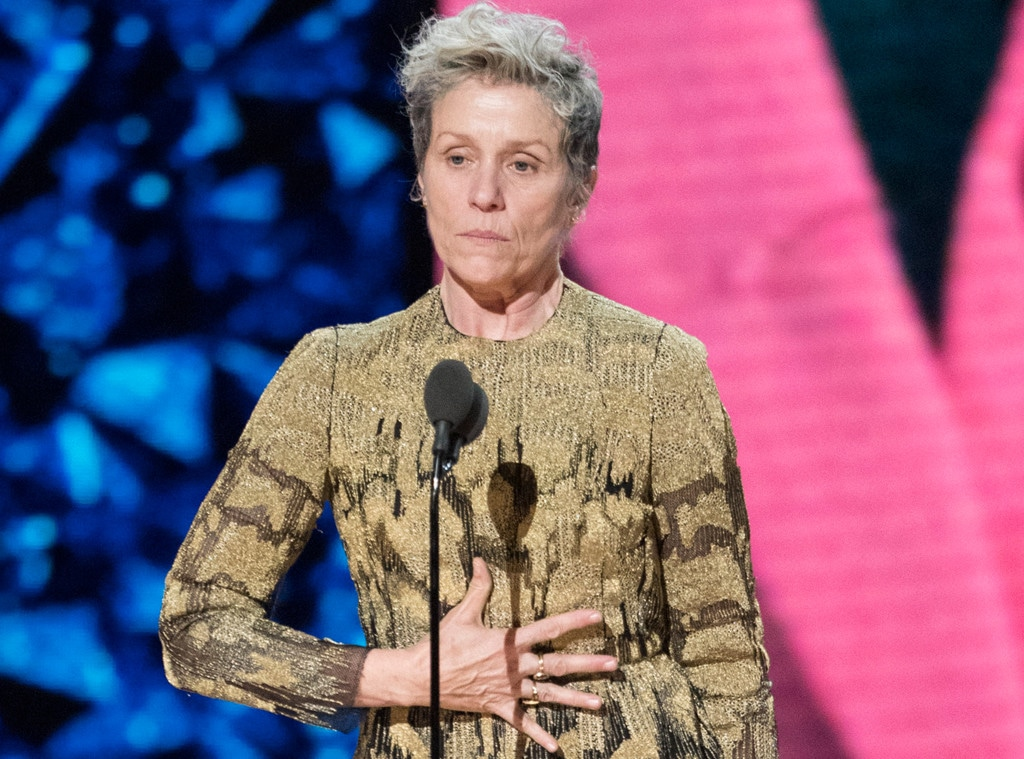 Frances McDormand, 2018 Oscars
