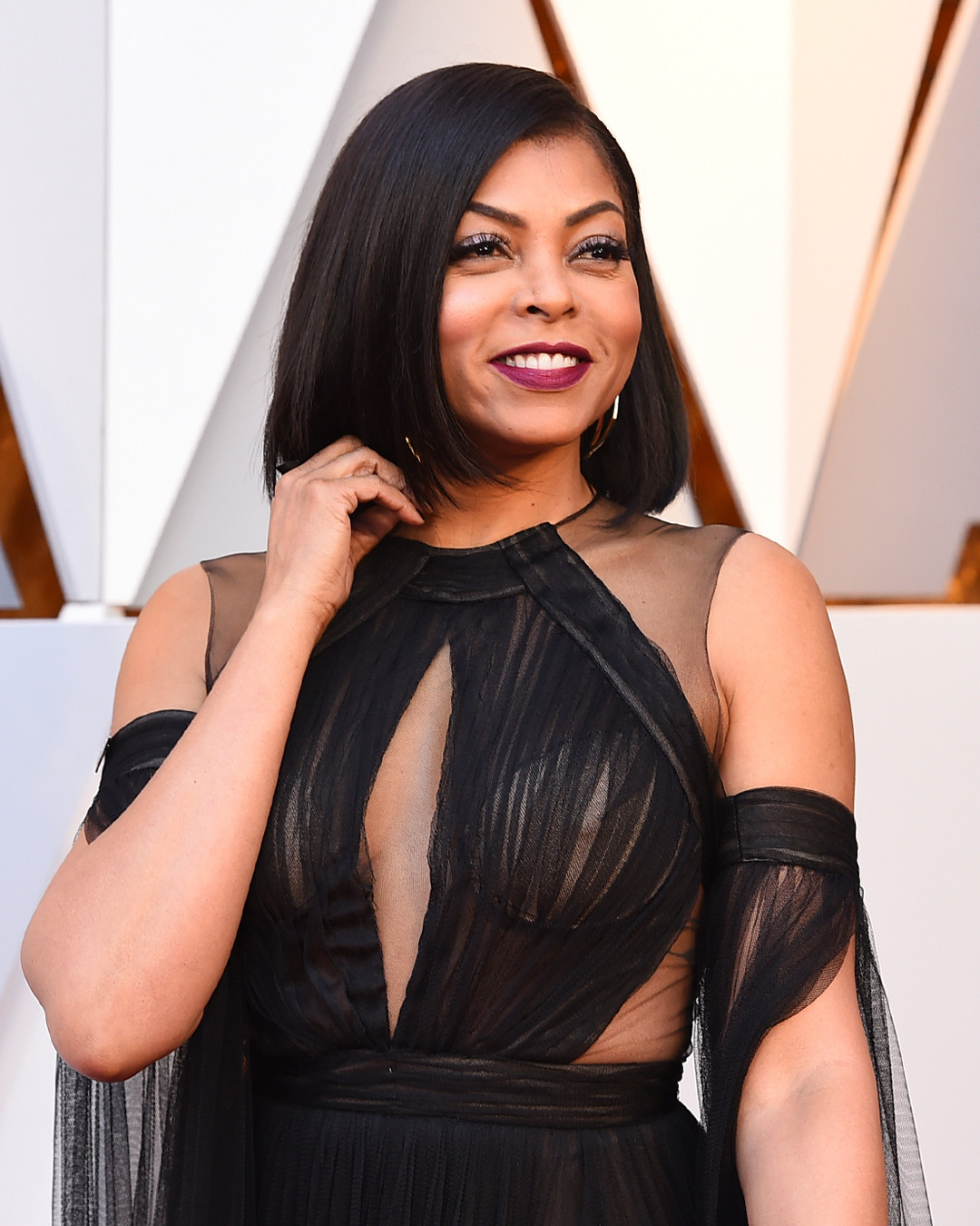 ESC: Red Carpet Prep, Taraji P. Henson