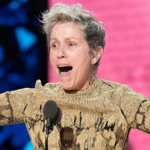 Frances McDormand, 2018 Oscars