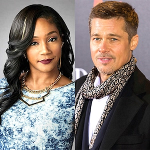 Tiffany Haddish, Brad Pitt