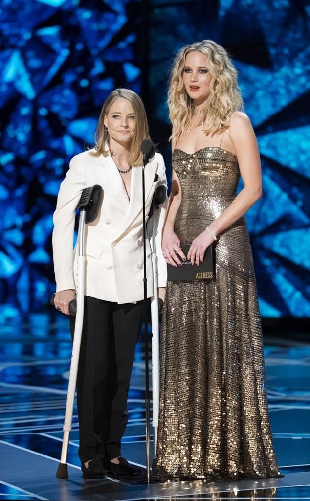 Jodie Foster, Jennifer Lawrence, Oscars 2018, Oscars, 2018
