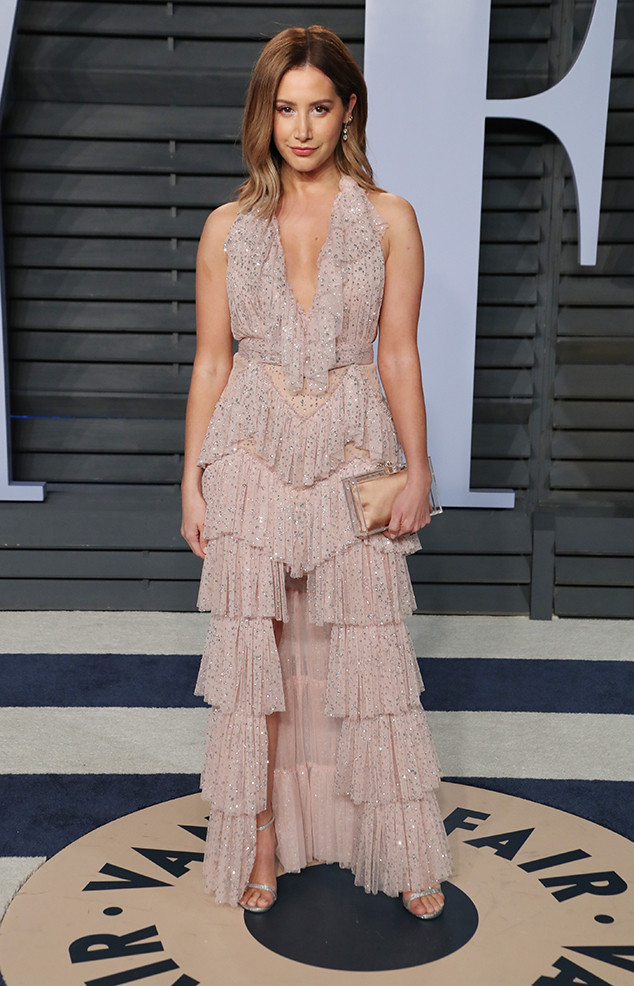 Ashley Tisdale, Vanity Fair Oscar Party 2018