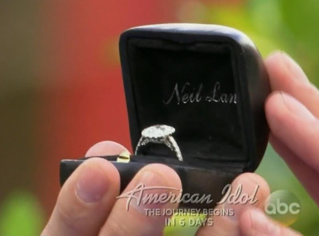 Arie Luyendyk Jr., Becca Kufrin, Engagement Ring