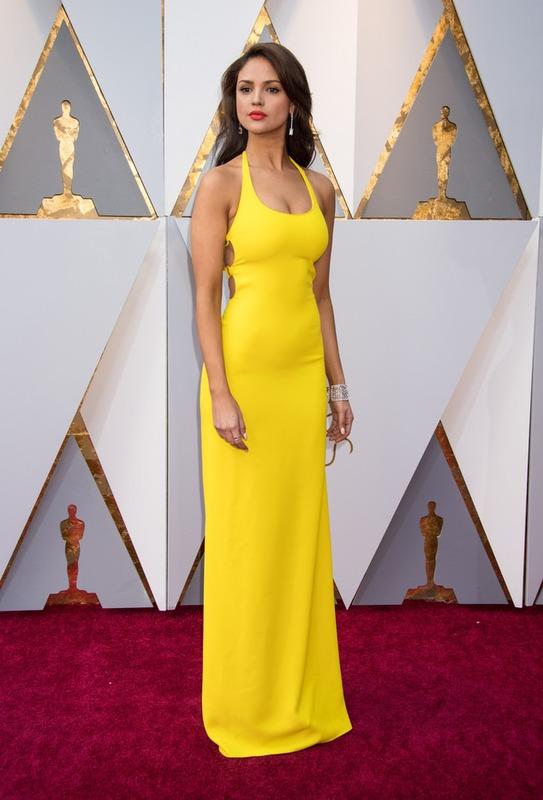 El Vestido Que Eiza González Usó En El Oscar Se Podría