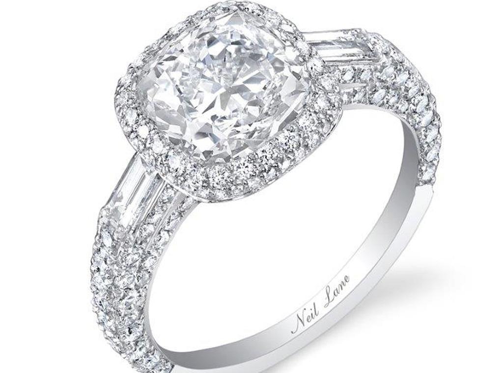 Arie Luyendyk Jr., Lauren Burnham, Engagement Ring. Neil Lane