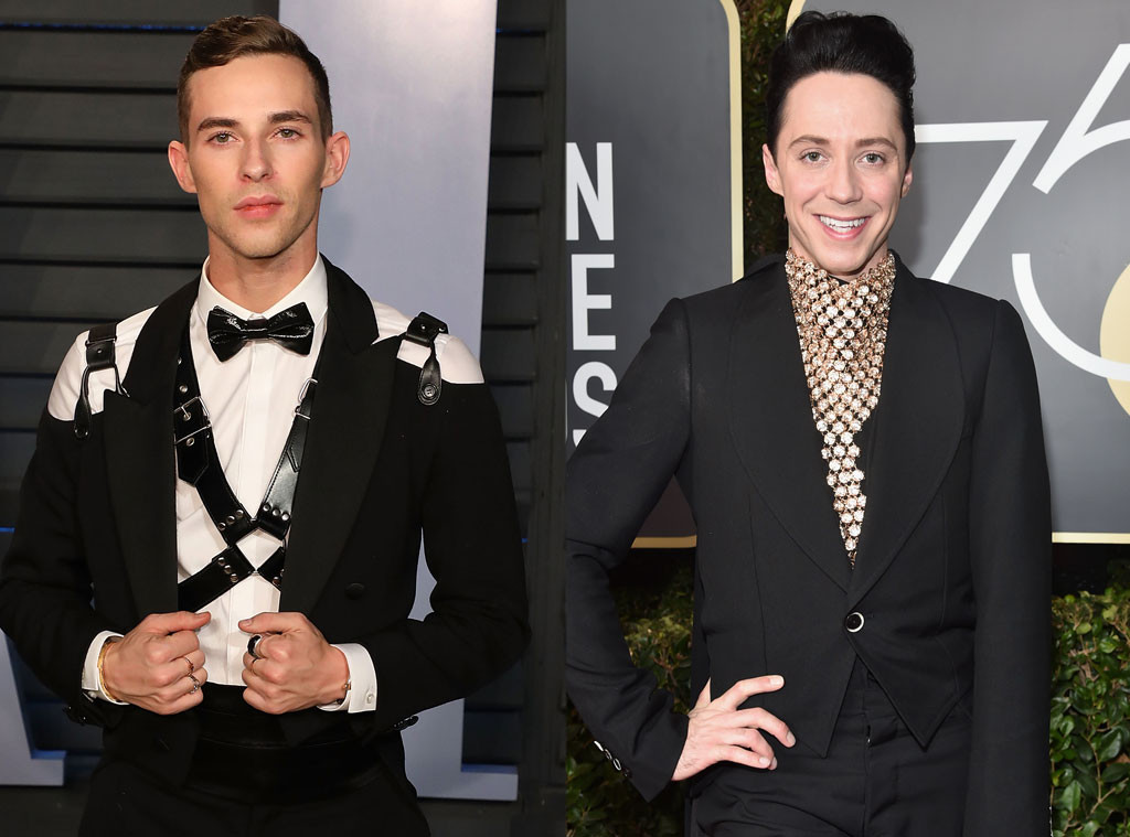 Johnny Weir, Adam Rippon