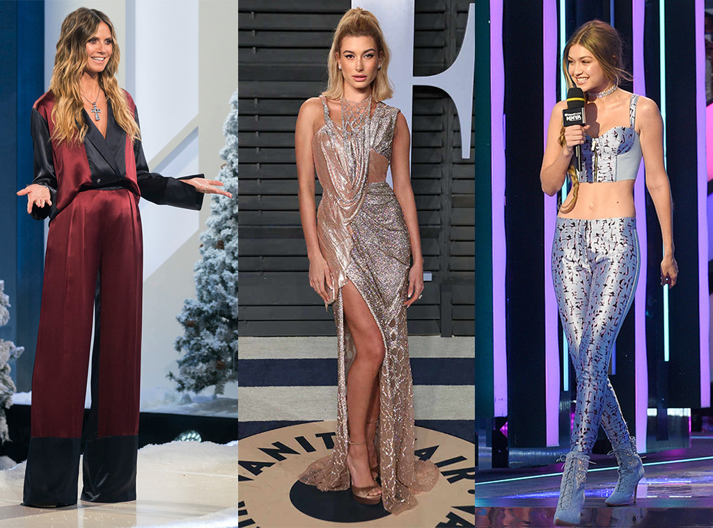 Heidi Klum, Hailey Baldwin, Gigi Hadid, Models