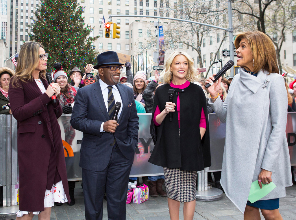 Hoda Kotb, Savannah Guthrie, Al Roker, Megyn Kelly, Today