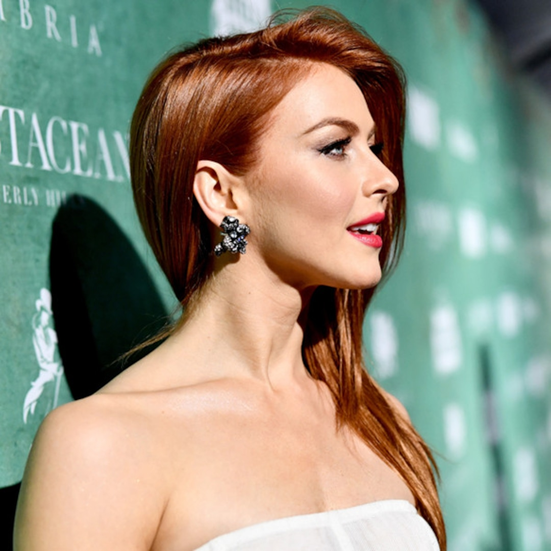 The Real Reason Julianne Hough Dyed Her Hair Red E Online Uk