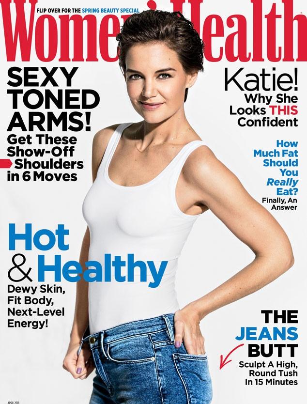 Katie Holmes, Women's Health