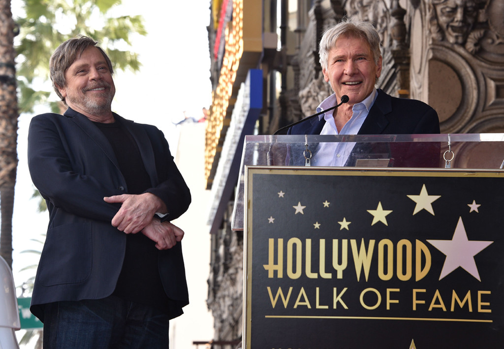 Mark Hamill, Harrison Ford
