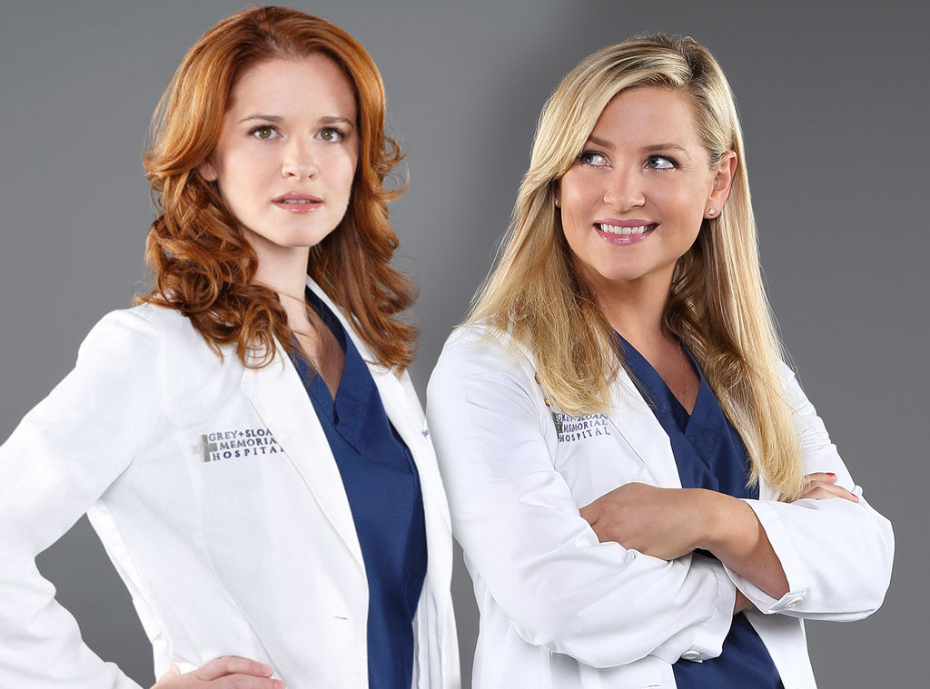 Grey\'s Anatomy Sends Off Sarah Drew and Jessica Capshaw With ...