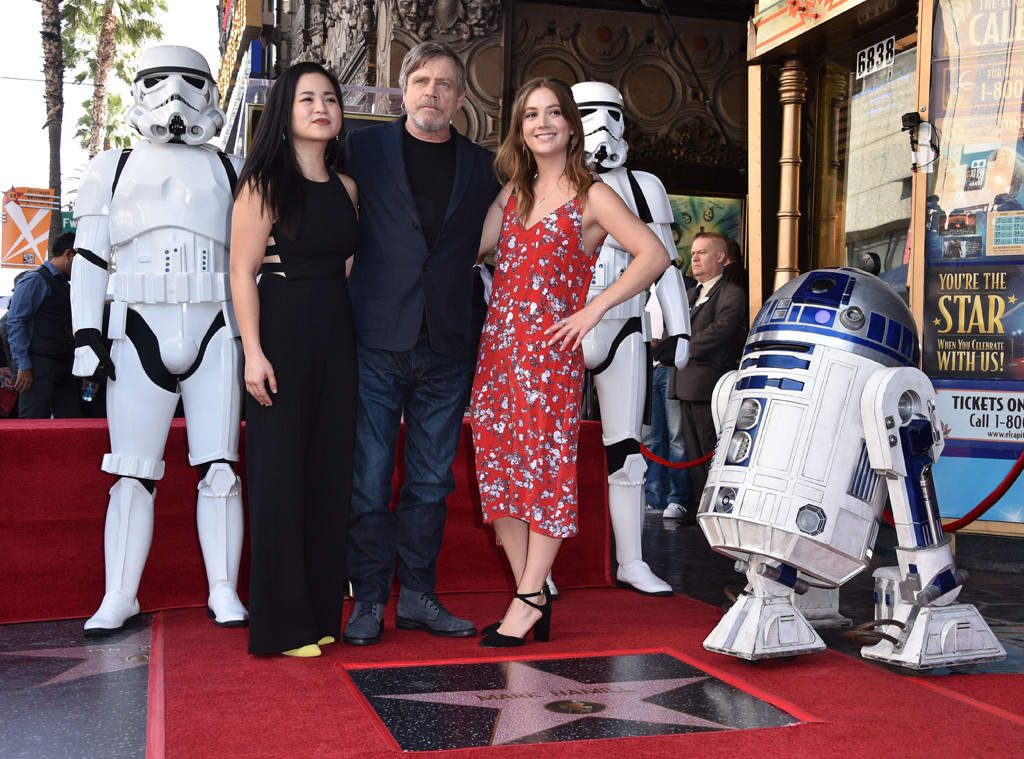 Mark Hamill, Kelly Marie Tran, Billie Lourd