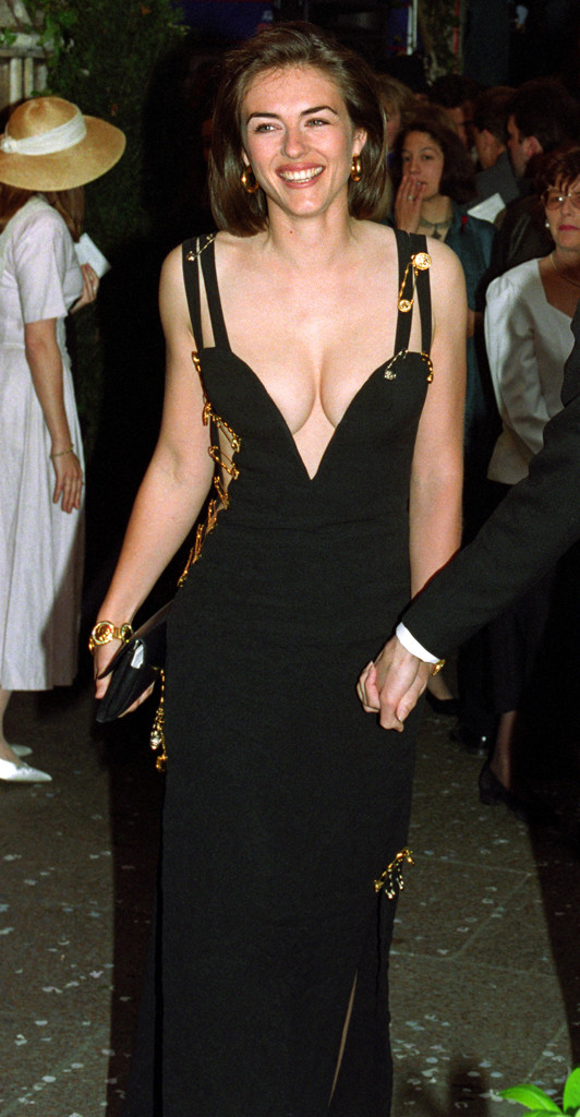Would Elizabeth Hurley Ever Wear Her Iconic Versace Safety Pin Dress