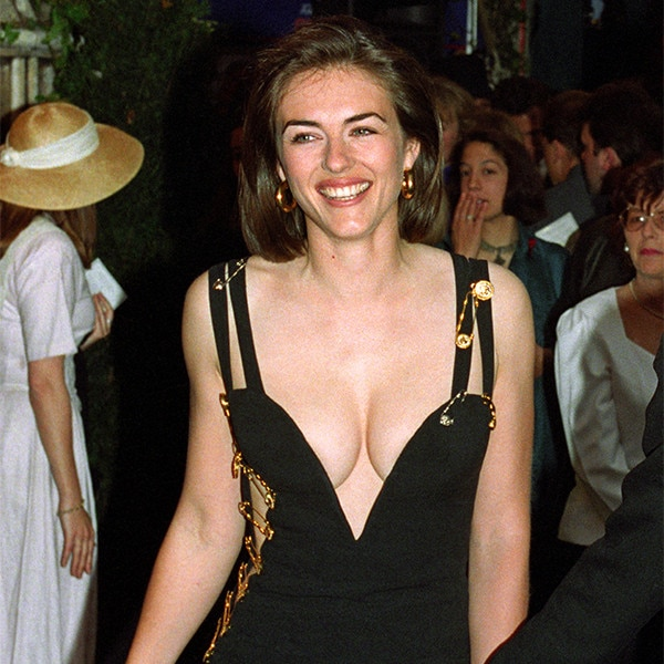 Pity, that Elizabeth hurley see through dress apologise