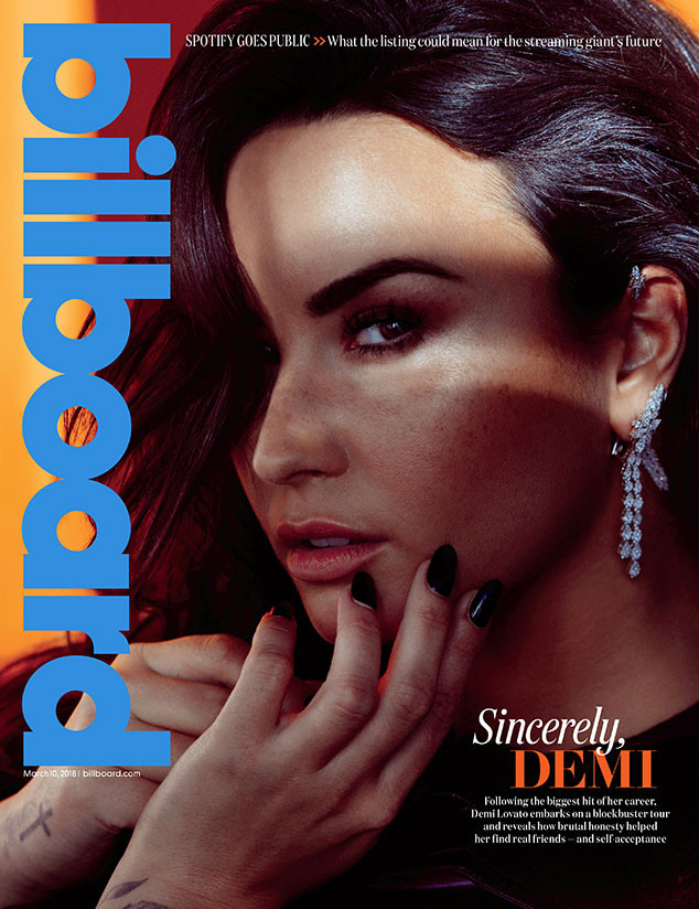 Demi Lovato, Billboard