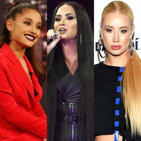 Ariana Grande, Demi Lovato, Iggy Azalea