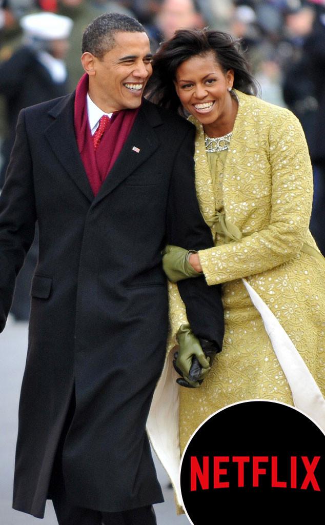Barack Obama, Michelle Obama, Netflix