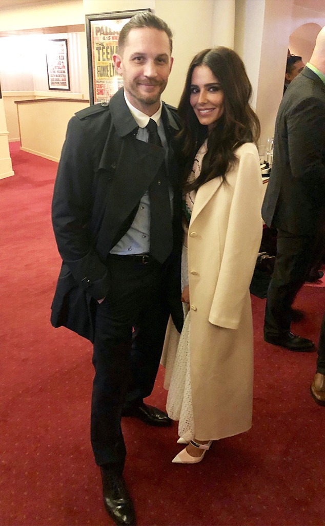 Cheryl, Tom Hardy, Princes Trust Awards