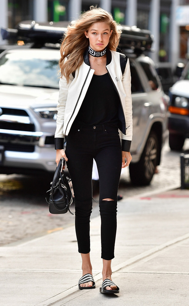 0cd679376 Saturday Savings: Gigi Hadid's Must-Have Black Jeans Are on Sale ...