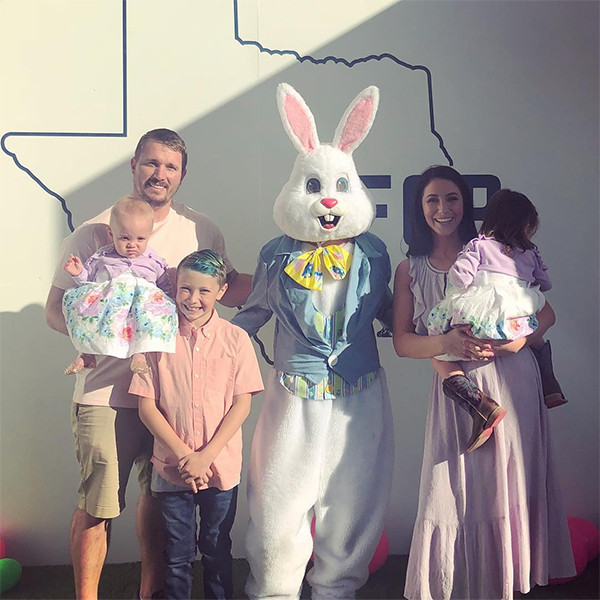 Dakota Meyer, Bristol Palin, Reunion, Kids, Easter Bunny