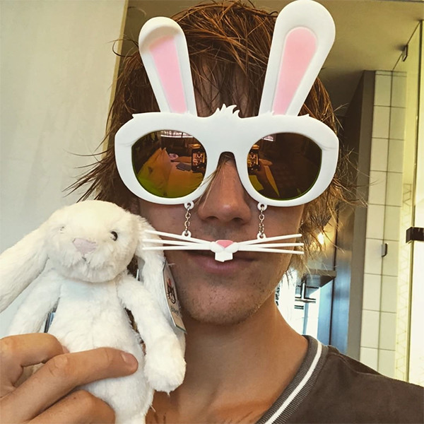 Justin Bieber, Easter 2018