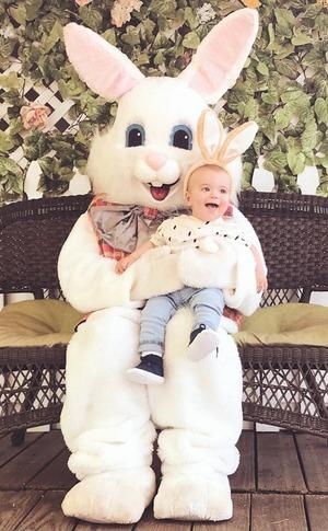 Lauren Conrad, Instagram, Easter, Liam