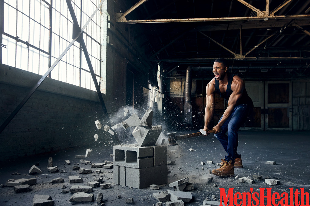Michael B. Jordan, Men's Health