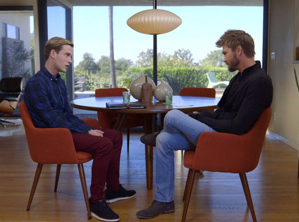Chad Michael Murray, Tyler Henry, Hollywood Medium 307