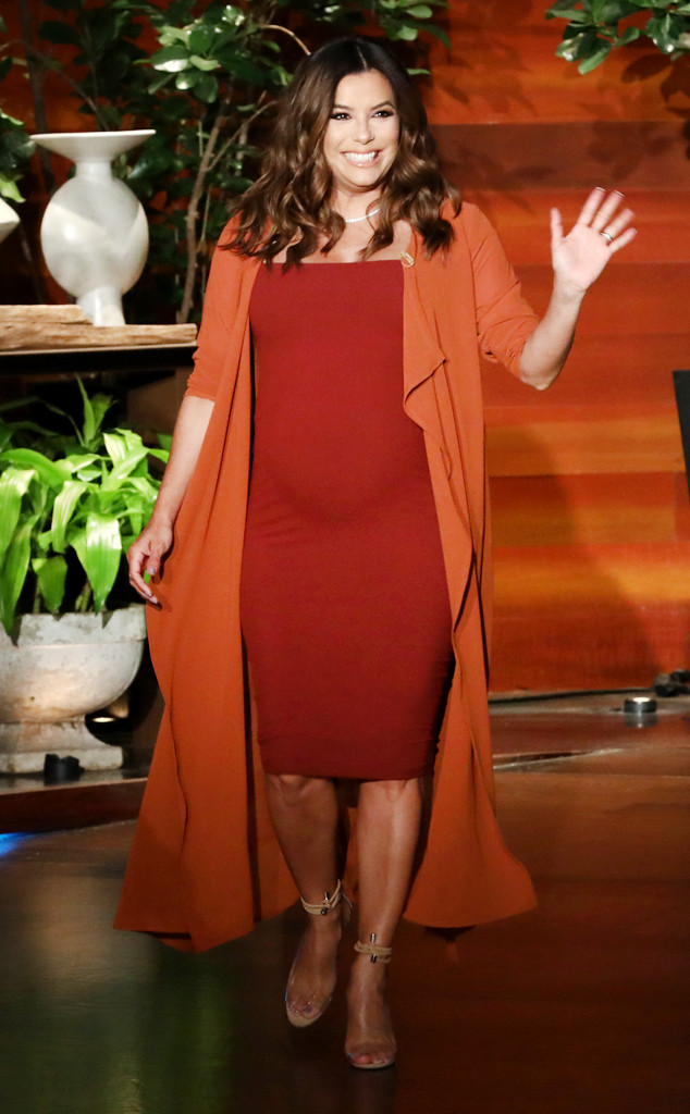 97af22d2fb The Sexy Outfit Eva Longoria and Other Pregnant Celebrities Love