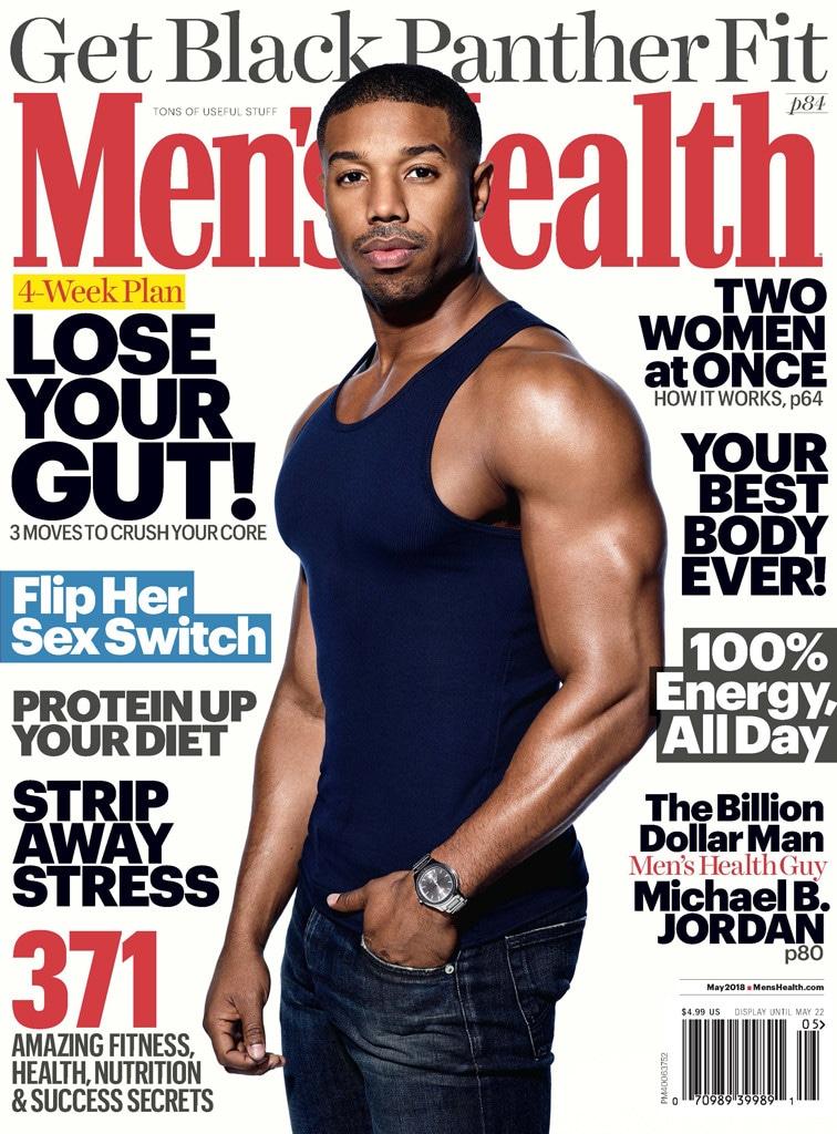 Michael B. Jordan, Men's Health