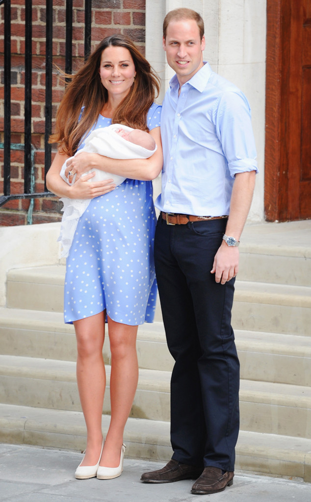 ESC: Kate Middleton, Prince William, Prince George
