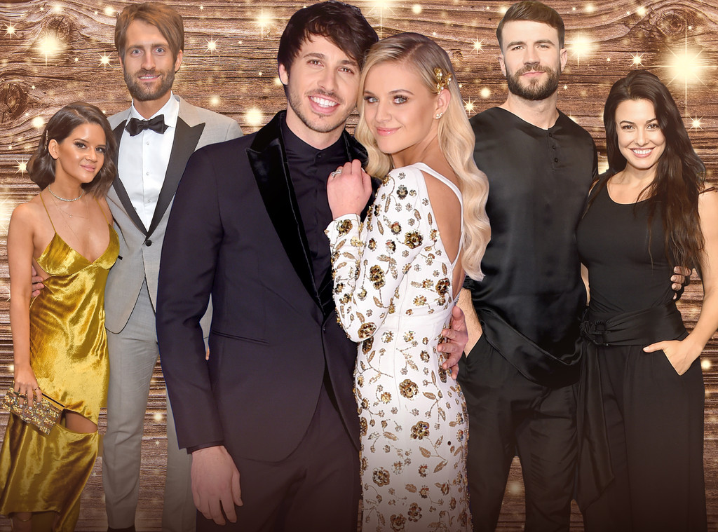 ACM Awards, Couples, Kelsea Ballerini, Morgan Evans, Maren Morris, Ryan Hurd, Sam Hunt, Hannah Lee Fowler