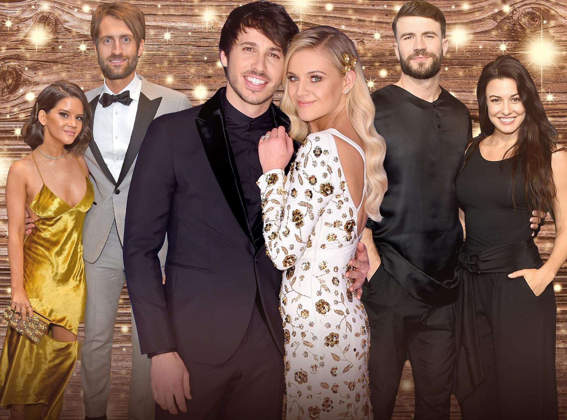 ACM Awards, Couples, Kelsea Ballerini, Morgan Evans, Maren Morris, Ryan Hurd, Sam Hunt, Hannah Lee Fowler